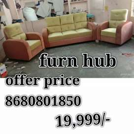 Boat sofa 3+1+1 at  offer sale own manufacturing