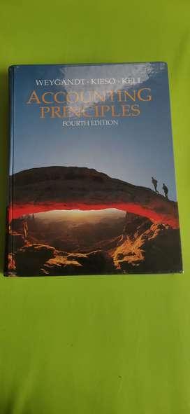 [Pre Loved] Accounting Principles by Weygandt, Kieso Kell 4th ed