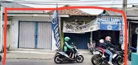 Tanah + 3 kios usaha Jl.Kemang sari 1 jati bening baru