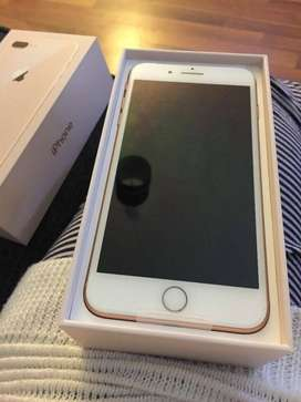 Sale on Apple I phone 8 with 6 months seller warranty, bill, box and a
