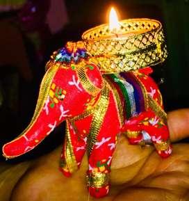 Elephant Diya