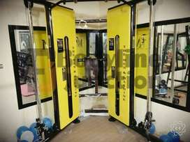 Get full gym setup in heavy duty and imported      look machine in