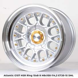 velg Brio type->ATLANTIC HSR Ring-15X89 H8X100-114,3 ET2015 SML