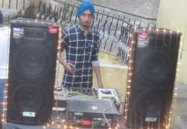 Dj and sound booking start