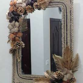 Hand made Mirror