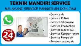 Service Kulkas Frezerbox Showcase, Mesin cuci, Ac, Kompor tanam