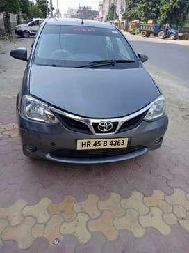 Totota etios cng car