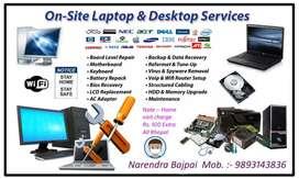 Computer or laptop format ya repair karayen ab ghar baite