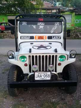 Welly jeep 1950