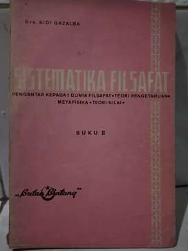 SISTEMATIKA FILSAFAT PENGANTAR KEPADA DUNIA FILSAFAT