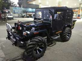 Mahindera open jeep