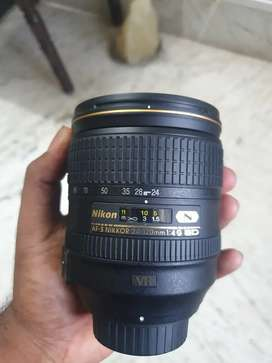 Nikon 35mm f1.8 and nikon 24-120mm f4 fx lens