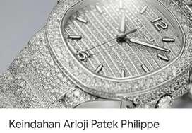 Di jual jam tangan merek pathek philips model bulat dan model petak