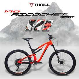Kami menjual sepeda MTB Thrill ricochet  sport  t140