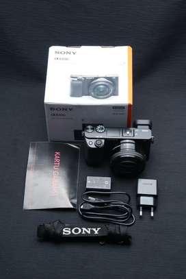 Sony a6100 kit 16-50mm mulus lengkap