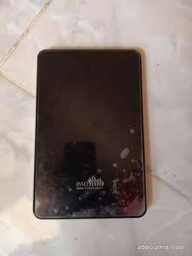 Tablet IMO Z3 msih hidup dan gak prnh di cas lagi akhir nya mati total