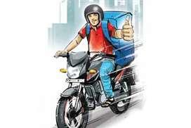 BELEGHATA(CYCLE) DELIVERY BOY JOB 11K SALARY