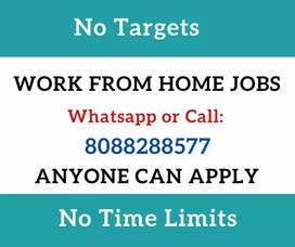 Best home based jobs for all. Simple typing job. Daily 1000