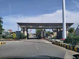 10 marla plot for sale in tip sector canal garden lahore