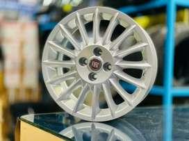 """16"""" Fiat Linea Oem Alloys set of 4 lite used"""