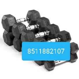 Hexa dumbbells heavy quality for sell.