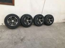 15 inch wheel and tyre
