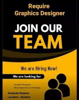 Required Graphics designer