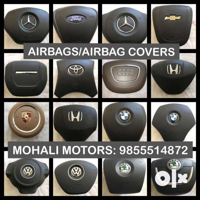 Airbags and airbag covers available for all new 0