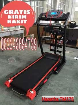gym store/treadmill tl 226 merah strip