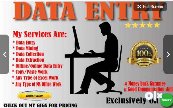 Vacancy Data Entry Work (10th-12th) Freshers 0