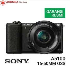 Sony a5100 kit 16-50mm OSS full set bonus