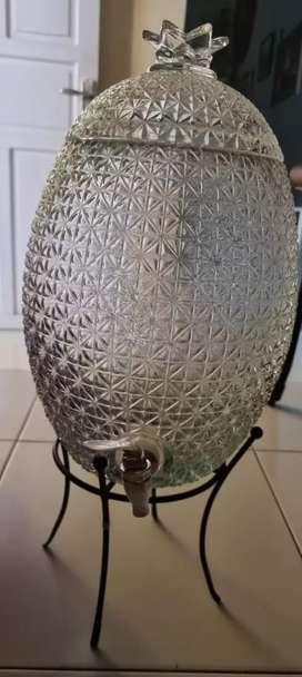 Dispenser kaca motif nanas