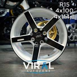 Velg / Pelek Buat Mobil Sedan Vios R15 HSR Promo Free Ongkir
