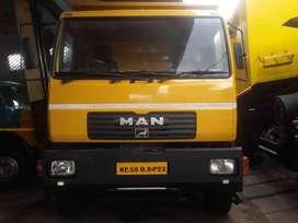 Man six wheel tipper