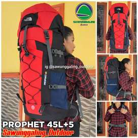 Tas gunung 45L up to 50L prophet