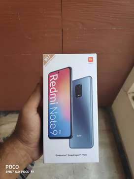 Redmi note 9 pro brand new sealed pack for sale