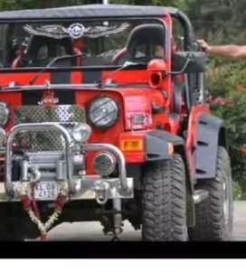Classic jeep