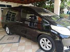 Jual Toyota Alphard X Thn 2012, hrg 380 jt Nego