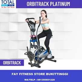 Orbitrack 6 Fungsi Alat Fitness Multifungsi Komplit Pemakaian Keluarga