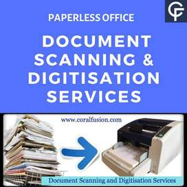 Required Document Scanning operator at Shillong and Aizwal