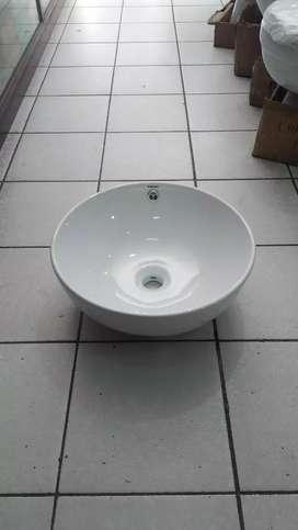 Wastafel Meja Model Bowl Bulat