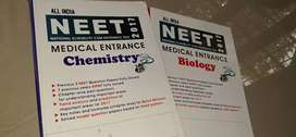 NEET,MEDICAL ENTRANCE TEXTS BIOLOGY AND CHEMISTRYand PHYSICS