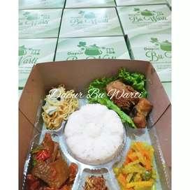 Nasi box semarang || nasi syukuran ayam krecek acar