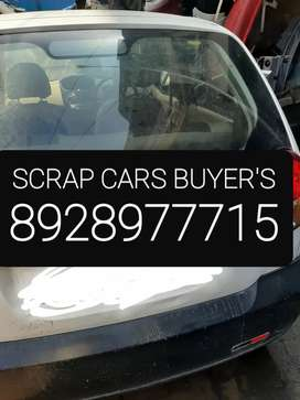 We buy SCRAP CARS and old CARS