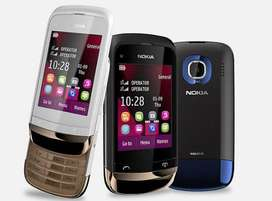 Nokia C203 Slide Dual SIM Stock Available || Cash on delivery All Pak
