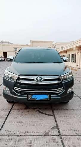Toyota Kijang Innova Reborn V bensin Manual Abu-abu 2016 Tdp 20 Juta