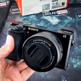 Sony a6000 kit 16-50mm. Fullset. Murah. sc 13rb