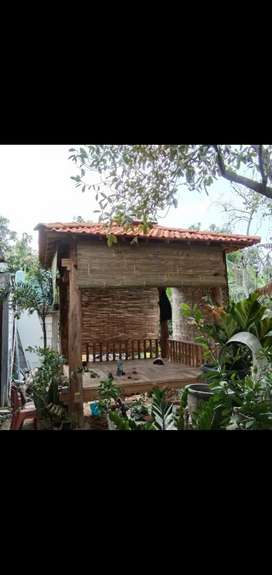 Tirai Bambu solid