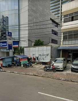 Disewakan Tanah di Jl. Samanhudi Raya Pasar Baru Jakarta Pusat
