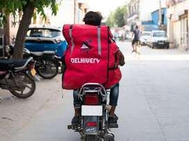 Delhivery courier service need delivery boy .